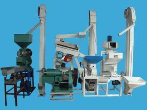 HB15 la línea de producción de pulidora de arroz