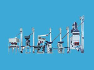 HB20T la línea de producción de arroz