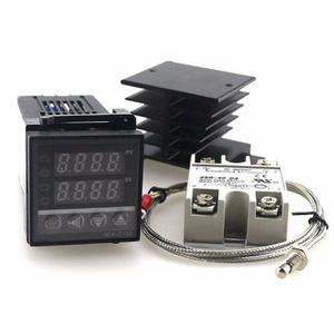 Kit Controlador De Temperatura, Termocupla, Rele, Disipador