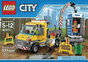 Lego City Camion De Asistencia  Piezas, Original