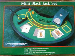Mini Black Jack Set Juego