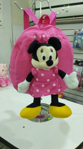 Morral Peluche Minnie Mouse Importado
