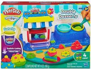 Play-doh Fabrica De Postre Original De Hasbro