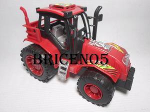 Tractor O Maquina Para Niños Juguete A Fricción