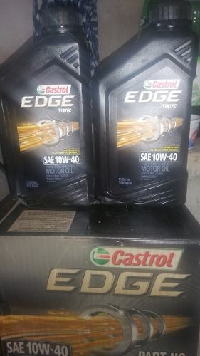 Aceite De Motor Full Sintetico 10w40 Castrol