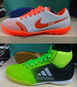 Botas Guayo Nike adidas Corte Alto Y Bajo