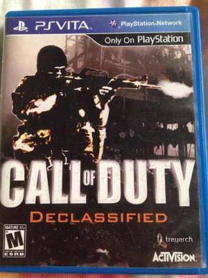 Juego De Psp Vita Call Of Duty