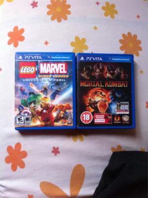 Juegos Playstation Vita Y Memoria De 4gb