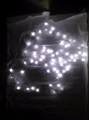 Luces De Navidad De 100 Bombillos Tipo Granito De Arroz