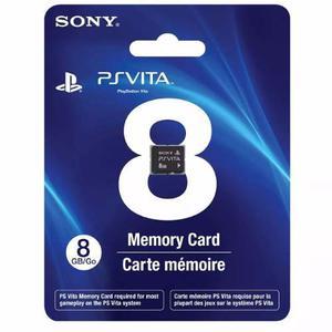 Memoria Ps Vita 8gb Original Psvita Sony