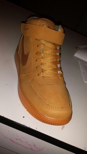 online retailer 3cff5 cadb8 Zapato bota nike air force one