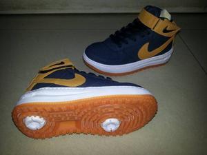 Zapatos Deportivos Nike Force One Niños Niñas