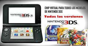 Chip Virtual Para Nintendo 3ds Todas Las Versiones