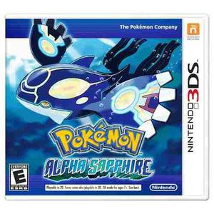 Juego Pokemon Alpha Sapphire Nintendo 3ds (original)