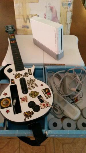 Nintendo Wii Consola de Baile Y Guitarra