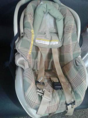 Porta Bebe Y Silla Para Carro Como Nueva Poco Uso (graco)