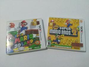 Super Mario 3d Land Y Super Mario Bros 2 Juegos De Ds