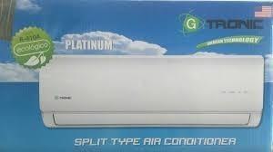 Aire Acondicionado Gtronic btu/220v Mini Split Nuevo