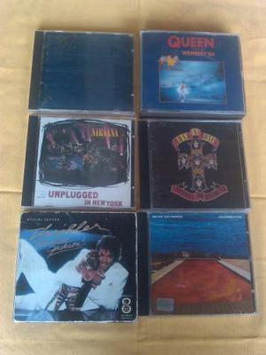 Cd Rock Queen, Guns N Roses, Red Hot Peppers, Nirvana Etc