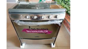 Cocina A Gas De 24 En Acero Premium Rubi