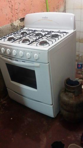 Cocina Mabe 6 Hornillas De Regalo Bombona De Gas