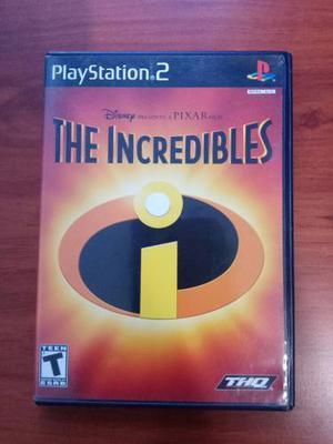 Juego Playstation 2 Original Importado Original,incredibles