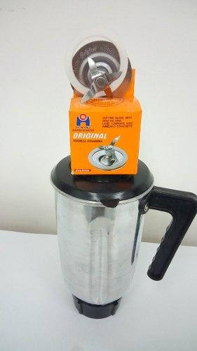 Kit Oster Vaso De Aluminio + Rosca + Tapa + Cuchilla