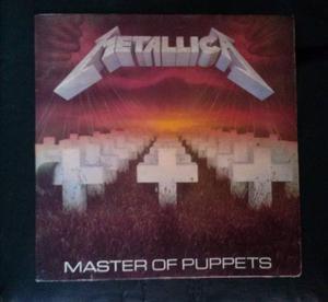 Metallica Discos Lp De Vinil Acetato De Colección