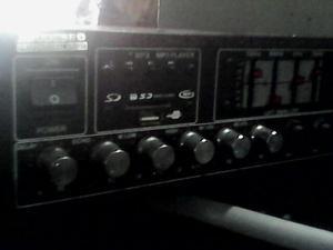 Planta amplificadora De Sonido Profesional Casera