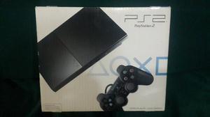Playstation 2 + 1 Control Y Cables. Excelente Estado.