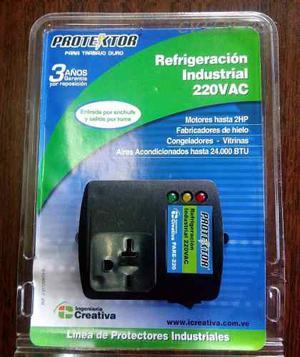 Protector De Voltaje Para Aire Acond. 220v Marca Protektor.