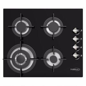 Tope Cocina Empotrar Gas Premium 60 Cm Vitroceramica Pbs765