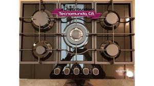 Tope De Cocina A Gas De 75 Vitroceramico Viotto