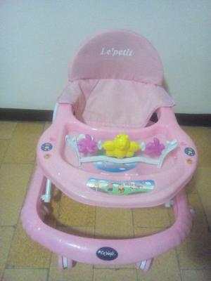 Andadera Para Bebe Rosada Nueva De Paquete