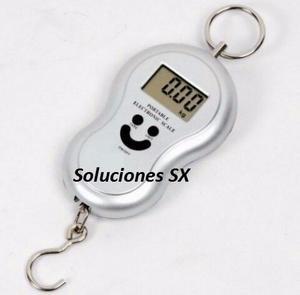 Balanza Peso Digital Portatil Incluye Pilas Colgante 50kg Ki