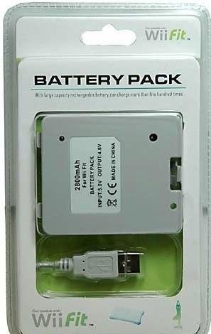 Bateria Recargable Para Tabla Wii Fit Del Wii