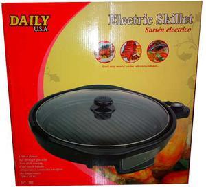 Cocina Sarten Electrico Antiadherente 36cm Daily Usa Nuevos!