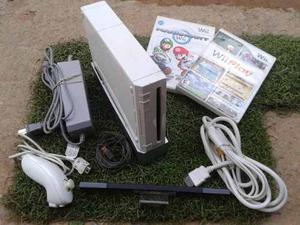 Nintendo Wii Blanco Con 1 Juegos Originales
