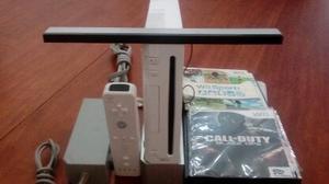 Nintendo Wii Chipeado Con Controles Y Juegos Incluido