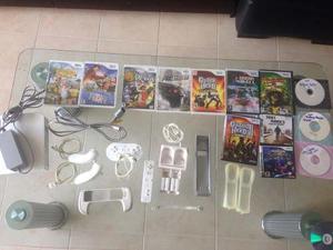 Nintendo Wii Original Chipeado Con Accesorios