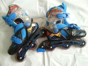 Patines Lineales Hot Wheels Nuevos
