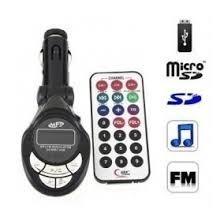 Transmisor Para Carro Fm 4 En 1 Control Usb Mp3 Sd Mp4