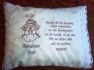 Almohada Angel De La Guarda