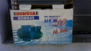 Bomba De Agua Marca Domosa 1/2 Caballo