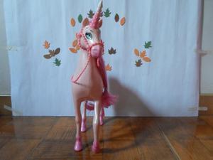Caballo De La Barbie Rosado
