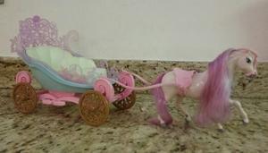 Carruaje De La Barbie Con Su Caballo