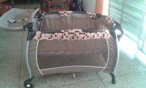 Corral Happy Baby Como Nuevo Para Niña