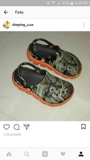 Crocs Originales Talla 29 Niño Usadas