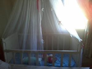Cuna Para Bebés, Con Mosquitero.