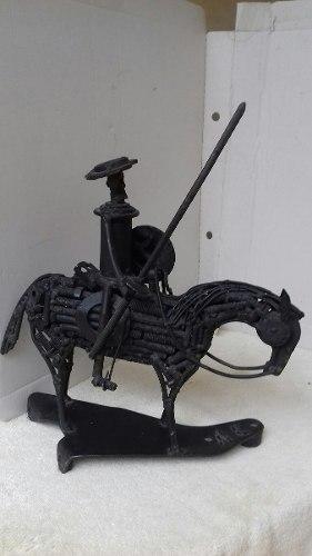 Escultura Don Quijote A Caballo